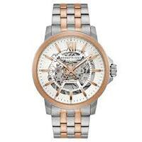 Gold/Silver Skeleton Automatic Watch with Two Tone Braclet BY KENNETH COLE