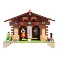 CHALET DEER WITH WATER TROUGH WEATHER HOUSE BY TRENKLE