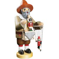PUPPET ORGAN PLAYER WITH MUSIC TUNE 36CM SMOKER