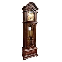 EXCLUSIVE TRIPLE CHIME GRANDFATHER CLOCK WITH INLAY BY SCHNEIDER