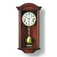 Wall Clock - AMS - R2614/1 Walnut