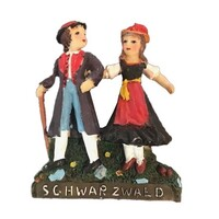 Swarzwald Dancing Couple Fridge Magnet