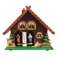 Chalet Deer & Tree with Windows - Trenkle - 818