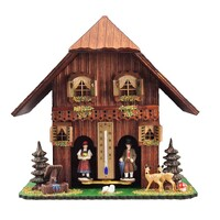 Chalet Deer with Water Trough & Trees - Trenkle - 828