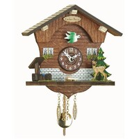 CHALET BATTERY CUCKOO HOUSE DEER WITH WATER TROUGH KUCKULINO BY TRENKLE