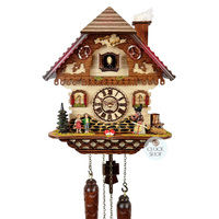 Chalet Battery Hansel & Gretel 32cm Cuckoo Clock By TRENKLE