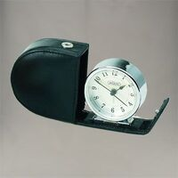 SILVER JACCARD SUNRISE TRAVEL CLOCK