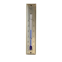 Gold Thermometer Square Top 95mm By FISCHER
