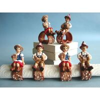 BAVARIAN NAPKIN RING - BOY OR GIRL