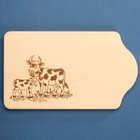 Cutting Board Cow and Calf