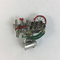 OKTOBERFEST BRISBANE HAT PIN - BREWERY HORSE & CARRIAGE