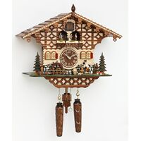 Chalet Wood Chopper & Water Wheel - Trenkle - 4212 QMT HZZG