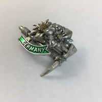 GERMANY HAT PIN - EDELWEISS FLOWER WITH PICK