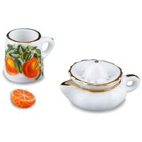 Miniature Orange Juice Set - RP - 1.475/5