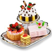 Miniature Cakes on Tray - RP - 1.650/5