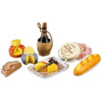 Miniature Cheese Bread and Wine Petit Paris - RP - 1.852/6