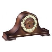 WALNUT TABLE CLOCK BY HERMLE