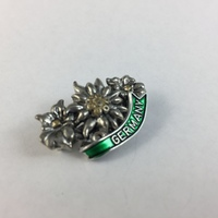 Germany Hat Pin - 3 Edelweiss Flowers