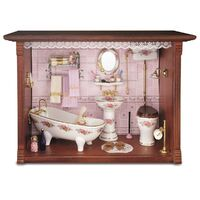 Miniature Picture Box Bathroom - RP - 1.705/2