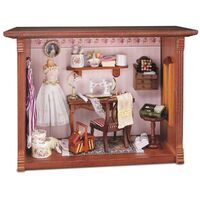 Miniature Picture Box Sewing Room - Rp - 1.705/3