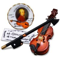 Miniature Violin Mozart My Melody - RP - 1.728/5