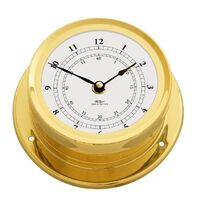 BRASS MARITIME CLOCK 16.5CM BY FISCHER