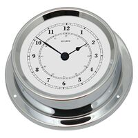 Maritime Chrome Clock - Fischer - 1508U-47