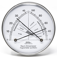 Chrome Thermohygrometer - Fischer - 142.01