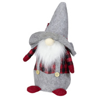 Gnome Sitting Red Hat 30cm