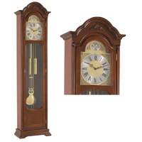 BIM BAM STRIKE GRANDFATHER CLOCK BY HERMLE