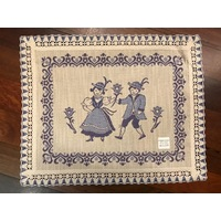 DANCERS BLUE PLACEMAT 40 X 50CM BY SCHATZ