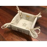 Light Edelweiss Bread Basket By Schatz