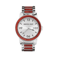 Watch - OG - Barrel - Rosewood Chrome 47mm