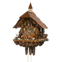 Chalet Bear Family Forest Scene - Hones - 86760T