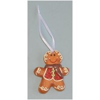 Ginger Bread Man Christmas Tree Decoration 6.5cm