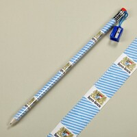 St - Pencil Large With Rubber Bavarian