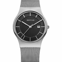Watch - Bering Gents Classic 11938 Silver Mesh