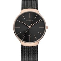 Watch - Bering Gents Classic 13338 Black Mesh