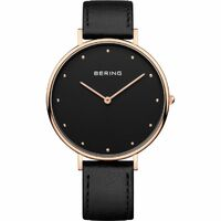 Watch - Bering Gents Classic 14839 Black Rose Steel