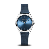 Watch - BERING Ladies Ultra Slim 17031 Blue
