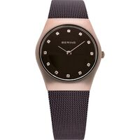 Watch - Bering Ladies Classic 11927 Brown Mesh