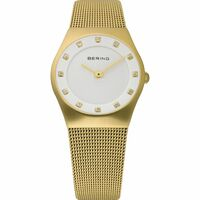 Watch - BERING Ladies Classic 11927 Gold Mesh