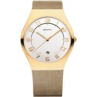 Watch - Bering Gents Classic 11137 Gold Mesh
