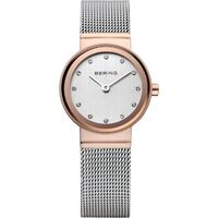 Watch - Bering Ladies Classic 10126 Silver Mesh Rose Two Tone