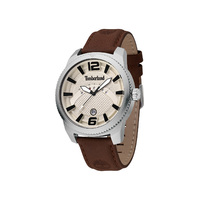 Rowley Beige Dial Brown Strap