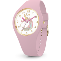 Fantasia Collection Pink/Gold Unicorn Watch with Pink Strap BY ICE