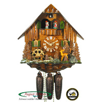 Chalet Deer & Water Wheel - Schwer - 5.0200.01.C