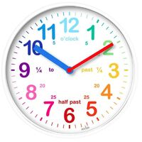 Wickford - Kids Clock in White
