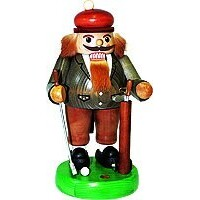 GOLFER 33CM NUT CRACKER