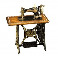 MINIATURE SEWING MACHINE METAL